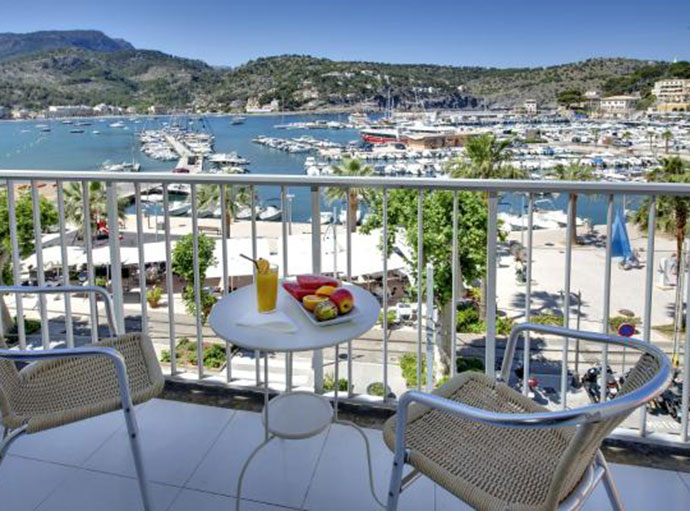 Facilities Sea View Double Rooms with Balcony hotel miramar puerto de soller